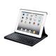 Monoprice Keyboard Folio with Mechanical Keys for iPad 2, iPad 3, iPad 4, Black with Black Keys (Open Box)
