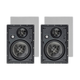 Monoprice Alpha In-Wall Speakers 8in Carbon Fiber 3-Way (pair) (Open Box)