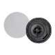 Monoprice Amber Ceiling Speakers 8-inch 2-way Carbon Fiber with Ribbon Tweeter (pair) (Open Box)