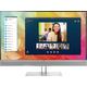 HP EliteDisplay 27-Inch Screen LED-Lit Monitor Black/Silver - 1FH51A8#ABA
