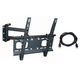 Monoprice Full-Motion Articulating TV Wall Mount Bracket - For TVs 32in to 55in, Max Weight 99lbs (Open Box)