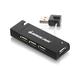 IOGEAR 4-Port USB 2.0 Hub - 4 x 4-pin Type A Female USB 2.0 USB - External