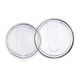 Pure Outdoor by Monoprice Two Pack Tumbler Lid - One 10 oz./20 oz. Lid, One 30 oz. Lid