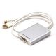 Monoprice Mini DisplayPort 1.1 + USB to Dual-Link DVI Adapter (Open Box)