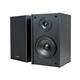 Monoprice Premium 5.25 Inch 2-Way Bookshelf Speakers (Pair) - Black Finish (Open Box)