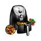 Air Fryer, 1500W Electric Deep Fryer, French Fries Fryer, 2.6 Qt, Removable Dishwasher Safe Basket
