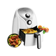 Air Fryer, 1500W Electric Deep Fryer, French Fries Fryer, 2.6 Qt, Removable Dishwasher Safe Basket