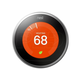 Nest Learning Thermostat T3008US Nest Pro 3rd Gen Satin Nickel