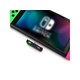 HomeSpot Bluetooth Audio Transmitter  USB C Connector for Nintendo Switch Compatible with AirPods PS4 Neon Green & Neon Pink