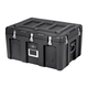 Pure Outdoor by Monoprice Stackable Rotomolded Weatherproof Case with Customizable Foam, 29 x 21 x 16 inches, Black (open box)