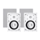 Sycamore by Monoprice Architectural In-Wall Speakers 6.5in 2-way Aluminum with Micro Ceramic Composite Tweeter (Pair) (Open Box)