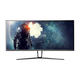 Monoprice 35in Zero-G Curved Gaming Monitor – 3440x1440p, UWQHD, 21:9, 100Hz (120Hz OC), FreeSync, 4ms, HDMI, DisplayPort, VA (open box)