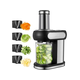 AICOK Electric Vegetable Cutter Body Stainless Steel Accessories 4 Cuts