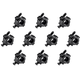 Stage Right by Monoprice O-Clamp 10-Pack