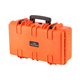 "Pure Outdoor by Monoprice Weatherproof Hard Case with Customizable Foam, 22"" x 14"" x 8"", Orange (open box)"