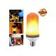 LED Flame Bulb Flickering Flame Light Bulbs Outdoor E26 Base Fire Effect Bulb for Home Party Bar Restaurant Garden Lanterns