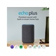 Echo Plus (2nd Gen) - Premium sound with built-in smart home hub - Charcoal