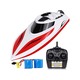 RC Boats for Kids & Adult - H102 20+ mph Remote Controlled RC Boat for Pool & Lakes, Speed Boat with 4 Channel
