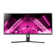 Dark Matter by Monoprice 34in Curved Ultra-Wide Gaming Monitor - 1500R, 21:9, 3440x1440p, UWQHD, 144Hz, DisplayHDR 400, AMD FreeSync, Height Adjustable Stand, Quantum Dot, VA