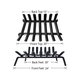 Fireplace Log Grate 24 inch Wide Heavy Duty Solid Steel Indoor Chimney Hearth for Outdoor Fire Place Kindling Tools Pit