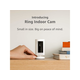 Ring Indoor Cam Compact Plug-In HD security camera with two-way talk - White - Works with Alexa