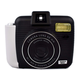 SHARPER IMAGE Instant Camera with Flash & 5 Lighting Modes, Compatible with Instant Mini Film - Black