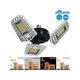 LED Garage Lights 80W 9600LM Dusk-to-Dawn Garage Lighting Garage Ceiling Lights, CRI 80 LED with Sensor Auto On/Off