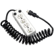 Tripp Lite Power Strip Hospital Medical 4 Outlet UL1363A 3'-10' Coiled Cord - NEMA 5-15P - 4 x NEMA 5-15R - 10 ft Cord - 15 A Current - 120 V AC Voltage HOSPITAL PATIENT CARE 3 FT CORD 15A