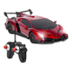 Electric RC Car- Radio Remote Control Sport Racing Hobby Grade Model Car 1:24 Scale for Kids Adults - Red