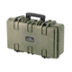 "Pure Outdoor by Monoprice Weatherproof Hard Case with Customizable Foam, 22"" x 14"" x 8"", OD Green (open box)"