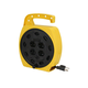 Portable Power Station with 4 Outlets, with 25ft Cord and Retractable Cord Reels, 16AWG, 13A, SJT, Black, 25ft
