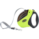 Coolbud Security Pro Retractable Dog Leash with Anti-Slip Handle Tape 16ft Top Heavy Duty Leash for Large Dogs Up to 110lbs Green
