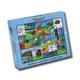 North American Animal Tracks Puzzle (48 pcs)