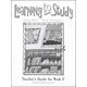 Learning to Study Book E Teacher Guide