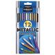 Metallic Colored Pencil Set (12 count)