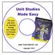 Unit Studies Made Easy CD, PDF Edition