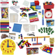 Math in Focus Complete Manipulative Kit with Teaching Clock Upgrade- Grades K-6
