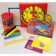 Manipulative Kit 1 (Plastic Pattern Block Upgrade, Judy Clock - Optional Items)