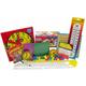 Manipulative Kit 2 (Basic Plastic Pattern Blocks, Judy Clock)