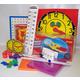 Manipulative Kit 2 (Plastic Pattern Block Upgrade, Judy Clock, Optional Items)