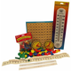 Manipulative Kit 3 (Basic Plastic Pattern Blocks, NO Optional Items)