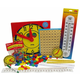 Manipulative Kit 3 (Basic Plastic Pattern Blocks, Judy Clock, Optional Items)