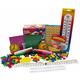 Manipulative Kit K-3 (Basic Plastic Pattern Blocks, NO Optional Items)