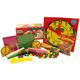 Manipulative Kit K (Basic Plastic Pattern Blocks, Judy Clock, Optional Items)