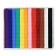 Unifix Cubes - Set of 120 (10 each/12 colors)