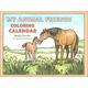My Animal Friends Coloring Calendar