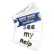Right Brain DOLCH Sight Word Cards: Pre-Primer