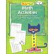 Pete the Cat Math Workbook: Grade 1