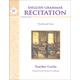English Grammar Recitation Workbook IV Teacher Guide