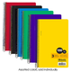 Spiral-Bound Wide Ruled 3-Subject Notebook (9.5